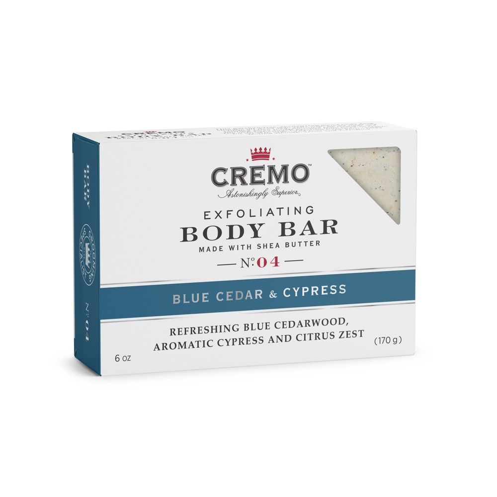 Cremo Blue Cedar & Cyprus Body Bar - 6oz