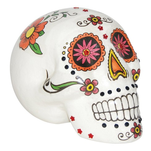 "7 ""Halloween Cool Sugar Skull - image 1 of 1"