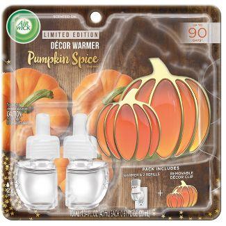 Air Wick Scented Oil Starter Kit 1+2 - Pumpkin Spice