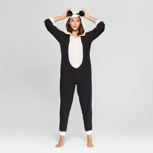 Women s Panda Union Suit - Xhilaration™ Black XL XXL   Target 349be36fe