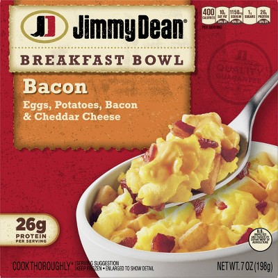 Jimmy Dean Frozen Bacon Breakfast Bowl - 7oz