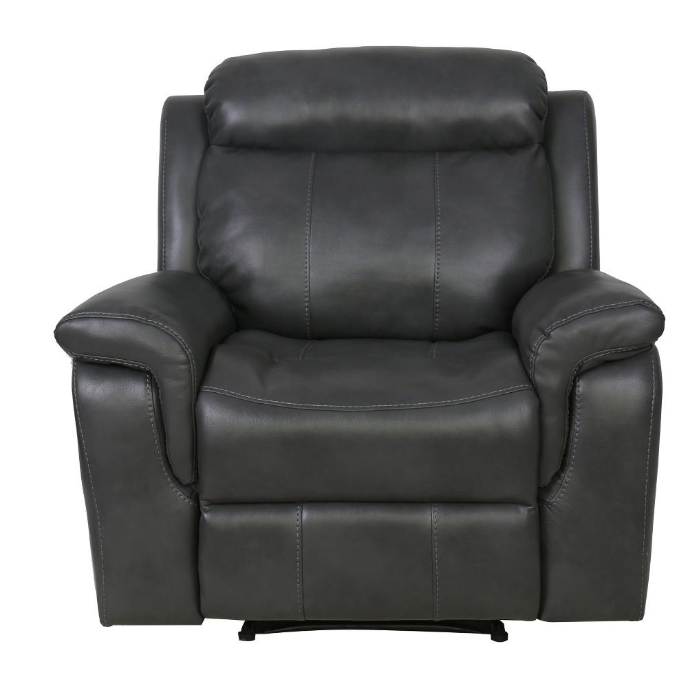 Whitley Recliner Dark Grey - Relax A Lounger, Dark Heather