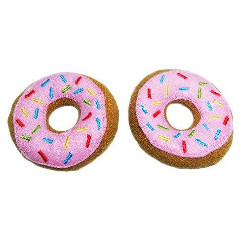 Donuts Pet Toy Set - 2pk - Boots & Barkley™ - image 1 of 1