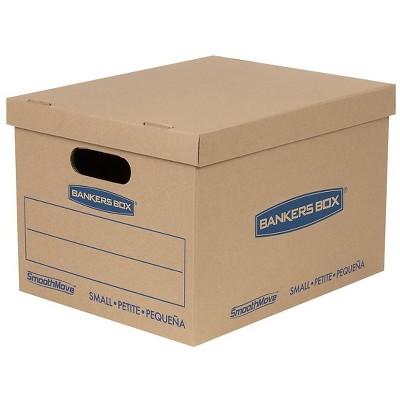"""Bankers Box 15"""" x 12"""" x 10"""" Moving Boxes Kraft 5/Bundle (7714212) 289485"""