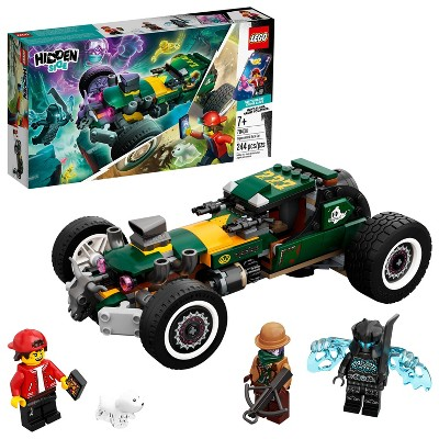 LEGO Hidden Side Supernatural Race Car Ghost Toy, Augmented Reality (AR) Play Experience 70434