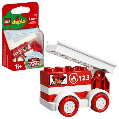 LEGO DUPLO My First Fire Truck Educational Fire Truck Toy 10917