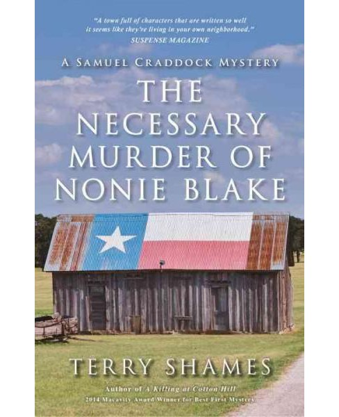 Necessary Murder of Nonie Blake (Paperback) (Terry Shames) - image 1 of 1