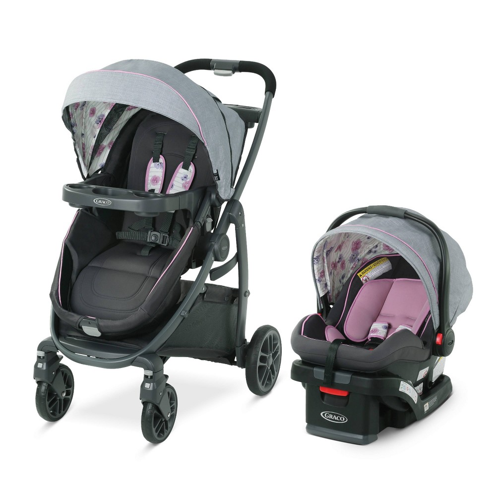 Graco Modes Bassinet Travel System - Carlee, Pink