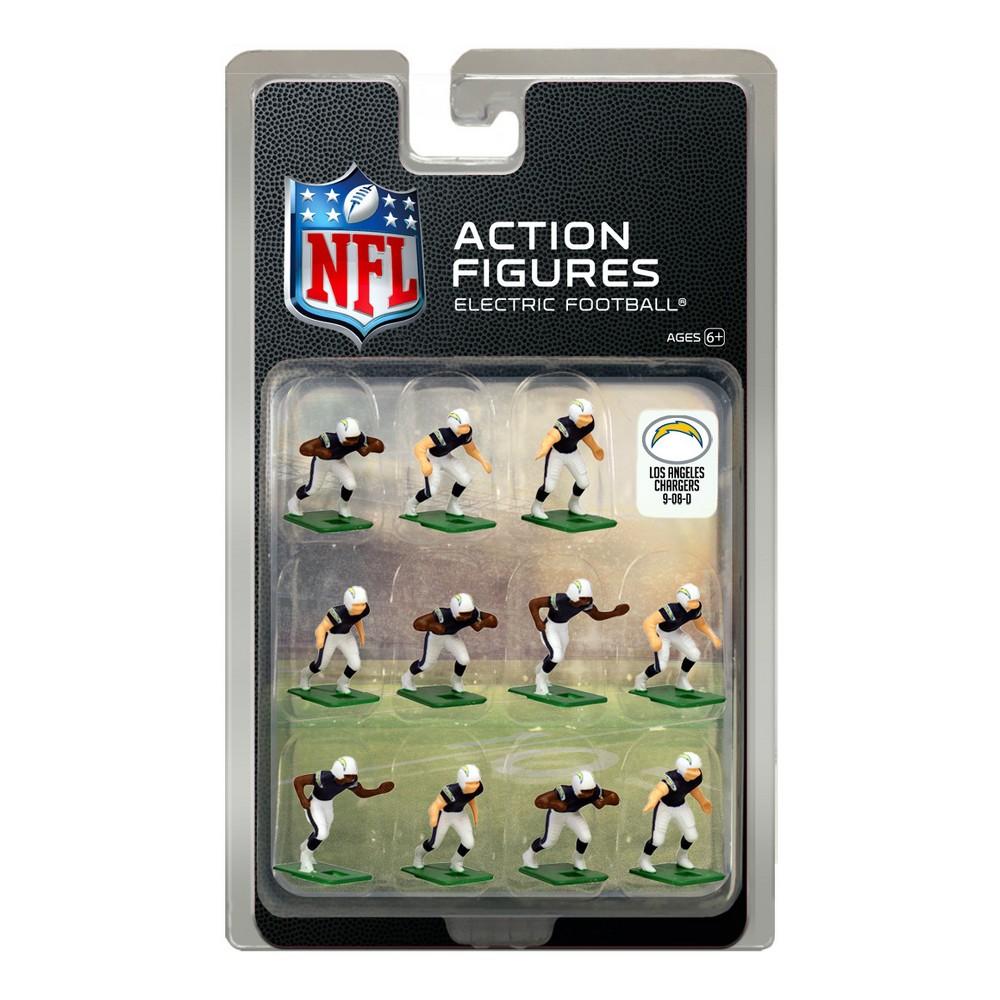 Nfl Los Angeles Chargers Tudor Games Home Uniform Electric Football Action Figure Set