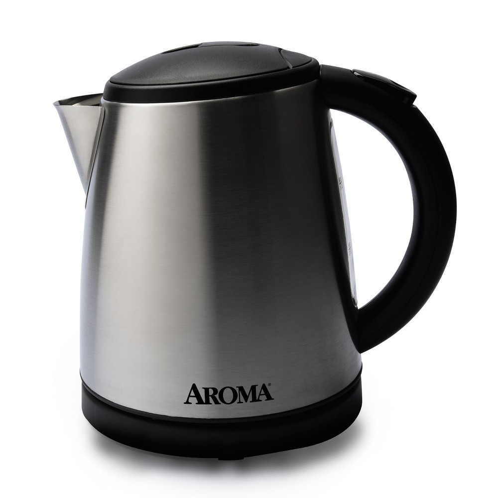 Image of Aroma 1L Electric Water Kettle - Stainless Steel