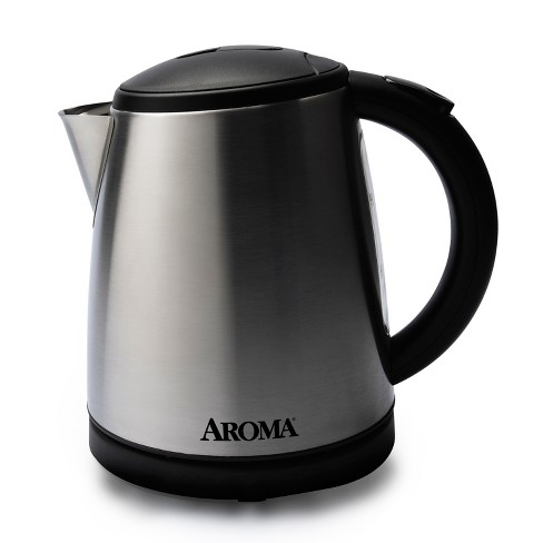 Aroma 1L Electric Water Kettle - Stainless Steel - image 1 of 2