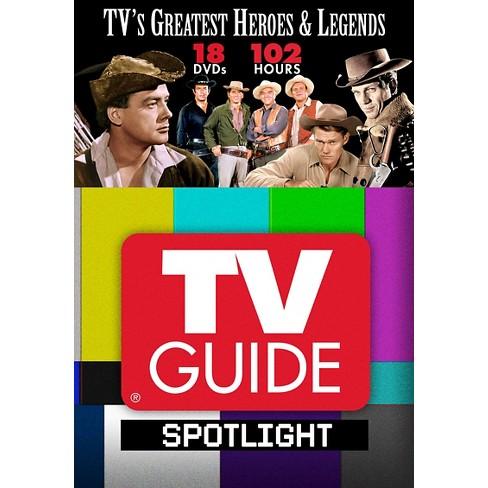 TV Guide Spotlight: TV's Greatest Heroes & Legends (DVD) - image 1 of 1