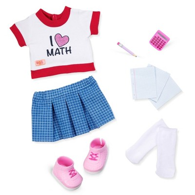 """Our Generation School Outfit for 18"""" Dolls - Perfect Math"""