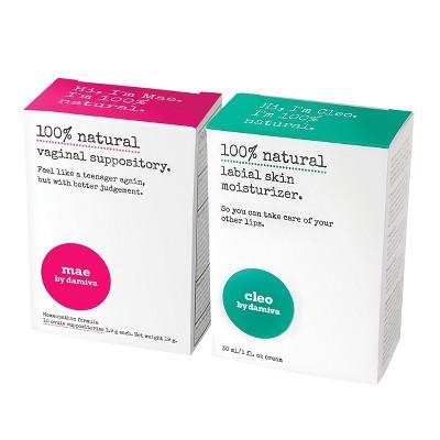 Damiva Genital Irritation Treatments - 1 Mae and 1 Cleo - 2ct