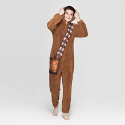 Men's Star Wars Chewbacca Union Suit - Brown