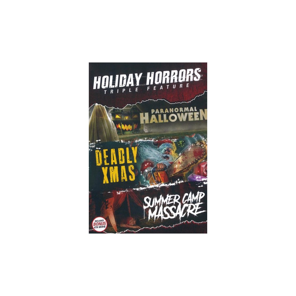 Holiday Horrors Triple Feature (Dvd)