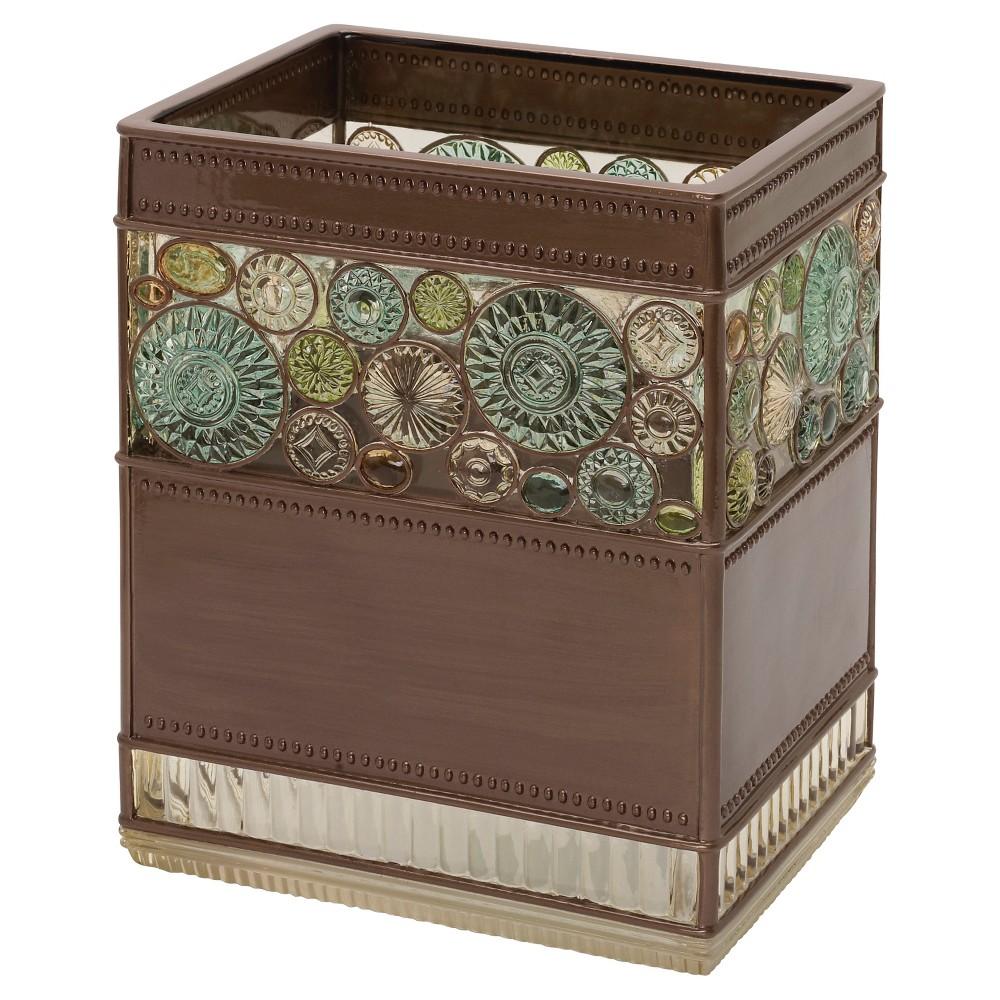 Image of Boddington Resin Artisan Waste Basket Bronze - India Ink