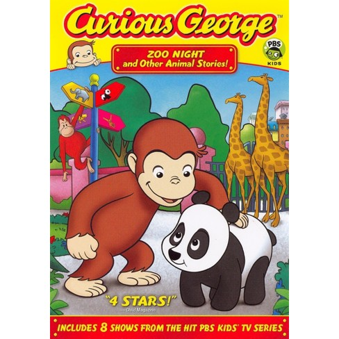 Curious George: Zoo Night and Other Animal Stories (dvd_video) - image 1 of 1