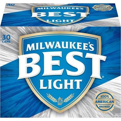 Milwaukee's Best Light Beer - 30pk/12 fl oz Cans