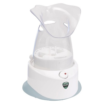 Vicks Personal Electric Steam Inhaler - White