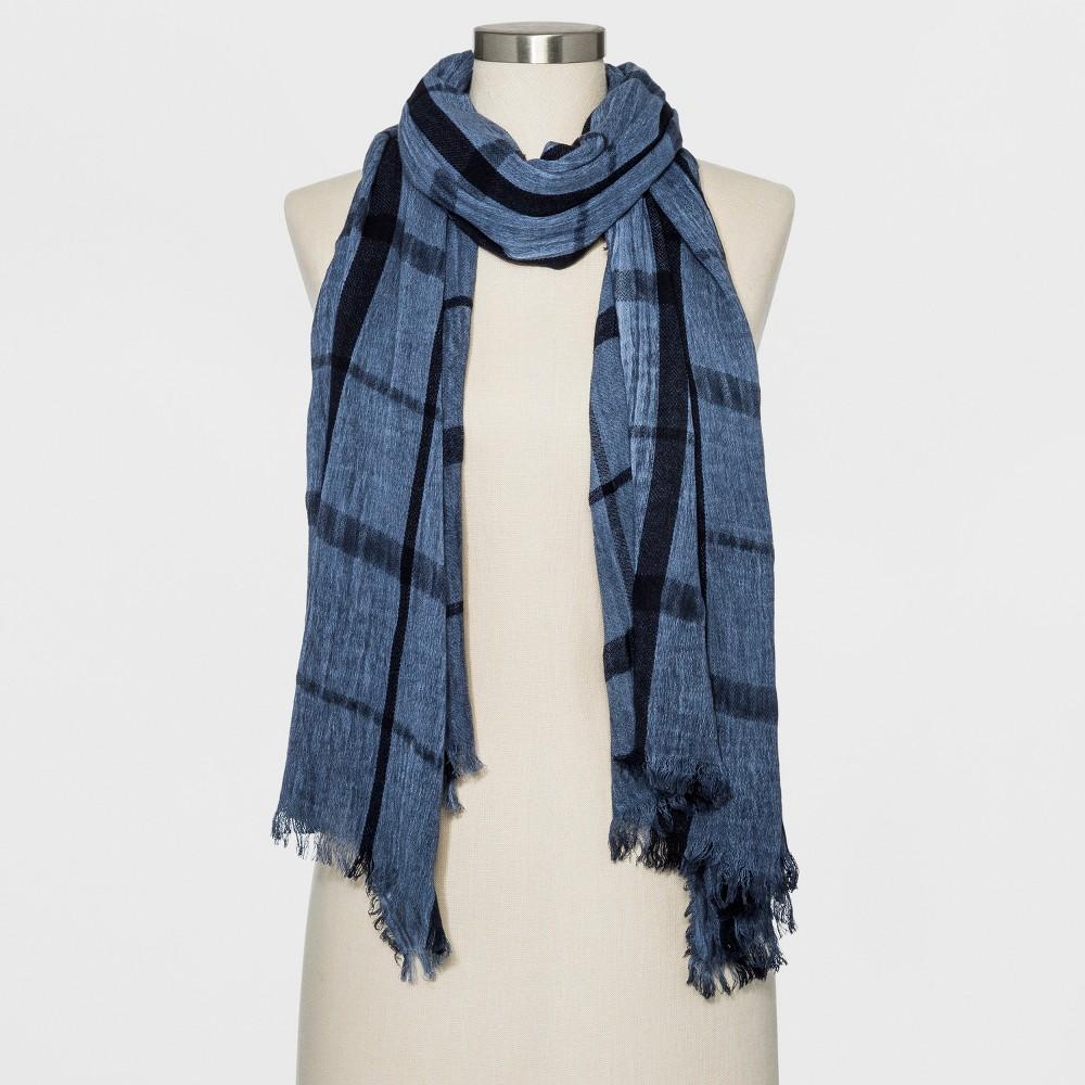 Women's Woven Oblong Scarf - Universal Thread Navy (Blue)