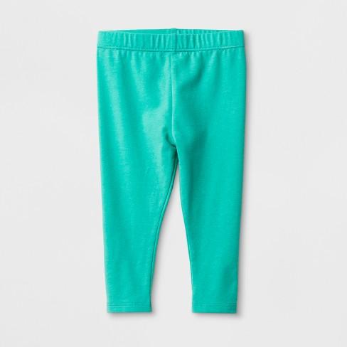 07c18449f Baby Girls' Basic Leggings - Cat & Jack™ Green : Target