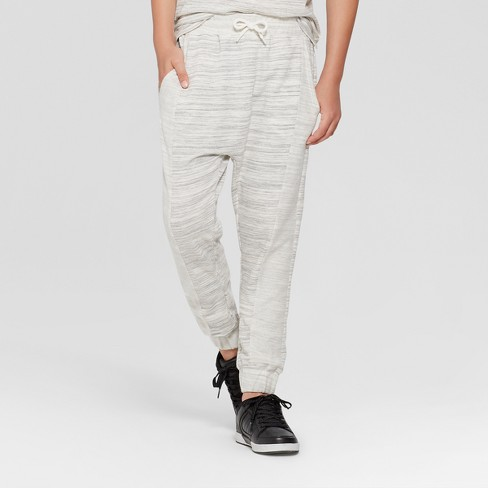 Boys' Knit Jogger Pants - art class™ Gray S - image 1 of 4