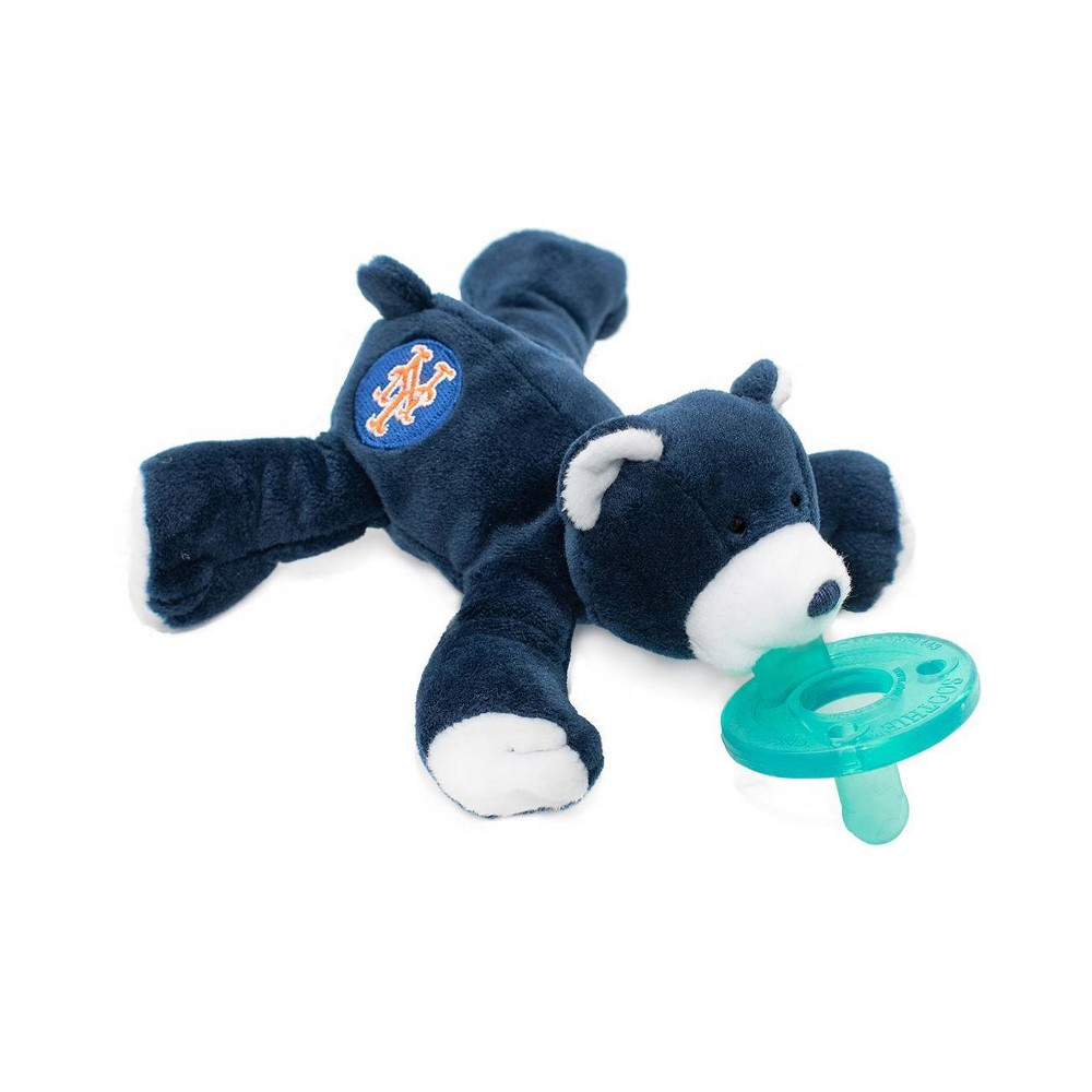 Image of WubbaNub Pacifier - Mets Bear