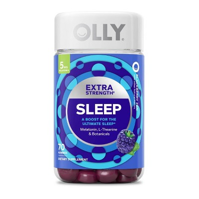 Olly Extra Strength Sleep Gummy Supplements - 70ct