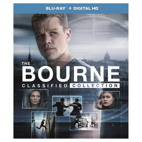 Bourne Classified Collection (Blu-ray) - image 1 of 1