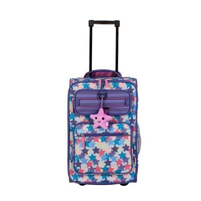 "Crckt 18"" Carry On Suitcase - Purple Stars Metallic"