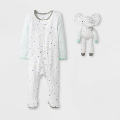 Baby 2pc Sleep N' Play - Cloud Island™ 0-3M