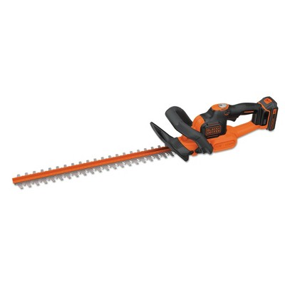 Black & Decker LHT321 20V MAX POWERCOMMAND Lithium-Ion 22 in. Cordless Hedge Trimmer Kit (1.5 Ah)