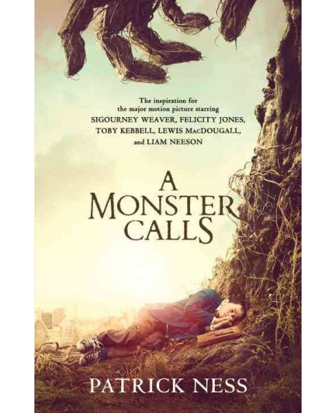 A Monster Calls: A Novel (Movie Tie-in): Inspired by an idea from Siobhan Dowd (Paperback) by Patrick Ness - image 1 of 1