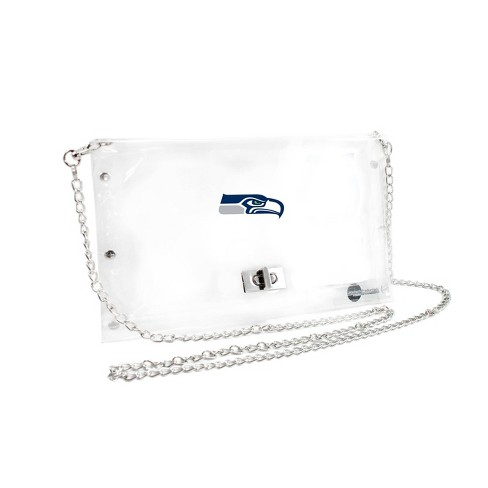 NFL Seattle Seahawks Clear Envelope Purse - image 1 of 1