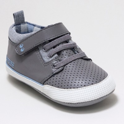 Baby Boys' Surprize by Stride Rite Ben Sneaker Mini Shoes - Grey 6-12M