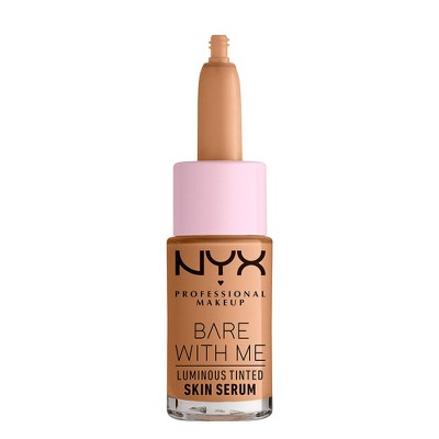 NYX Professional Makeup Bare with Me Luminous Tinted Skin Serum - Dewy Finish - 0.43 fl oz