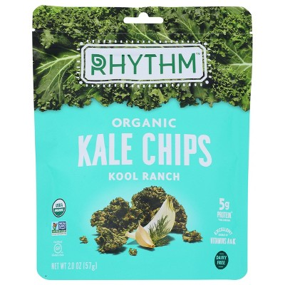 Rhythm Super Foods Ranch Vegetable Chips 12 pack