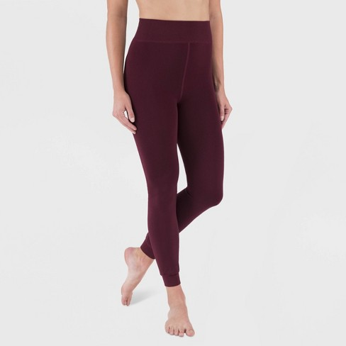 Wander by Hottotties Women's Velvet Lined Leggings - image 1 of 2