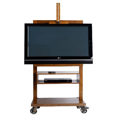 Cullen Entertainment Stand - Deco Walnut - Haven Home