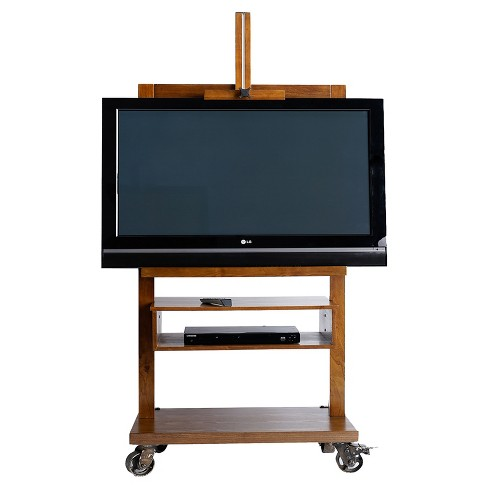 """Cullen TV Stand for TVs up to 60"""" Deco Walnut - Haven Home - image 1 of 4"""