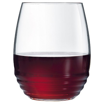 Luminarc Eminence 17oz Stemless Wine Glass - Set of 12
