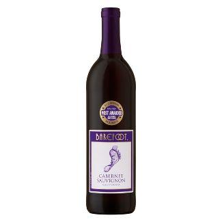 Barefoot Cabernet Sauvignon Red Wine - 750ml Bottle