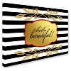 Gold Hello Beautiful' by Lightbox Journal Ready to Hang Canvas Wall Art - image 3 of 3