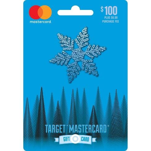 Mastercard Holiday Gift Card 100 6 Fee Target