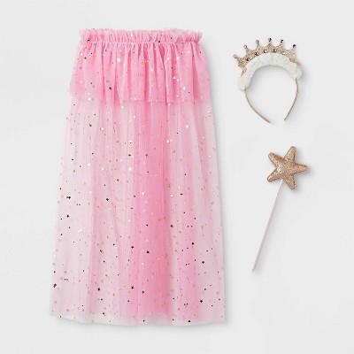 Toddler Girls' Princess Dress-Up Set - Cat & Jack™ Pink/Gold