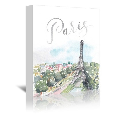Americanflat Paris by Cami Monet Wrapped Canvas