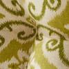 "Set of Two 18"" Shoreham Ikat Outdoor Bistro Chair Cushions - Kensington Garden - image 4 of 4"