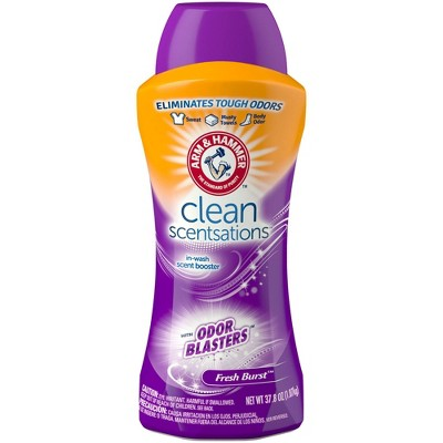 Arm & Hammer Clean Scentsations In-Wash Scent Booster w/ Odor Blaster - 37.8oz