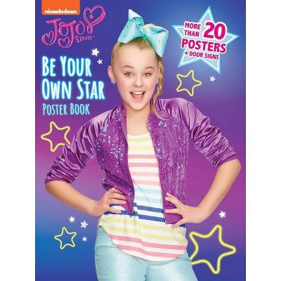 Be Your Own Star Poster Book - (Jojo Siwa)(Paperback)